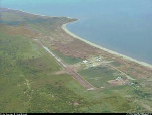 Аэродром на севере Альбертвиля