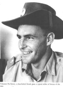 Пэт Кёртон во время службы в Катанге (4 Commando Майка Хоара, подразделение Жандармерии Катанги)