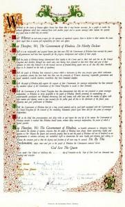 Декларация Независимости Родезии