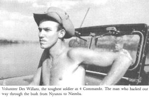 Волонтер Дез Уилланс. Фото из книги The Road to Kalamata